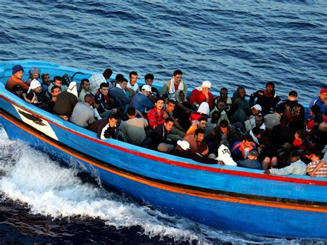 Refugee Boat Italy by Horrific Phone Calls Reveal How Italian Coast Guard Let