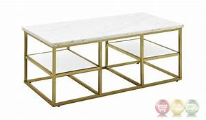 isabelle marble coffee table with tempered glass shelves With marble coffee table with shelf