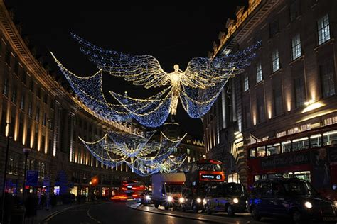 find   christmas lights  london
