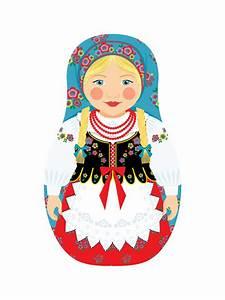 Amy Perrotti: New- Polish Girl Matryoshka