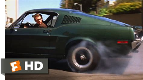 bullitt  san francisco car chase scene