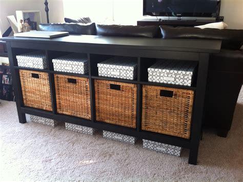 sofa table with storage sofa table and furniture designwalls com