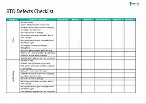 how to conduct your own hdb bto defects inspection 99co With defect checklist template