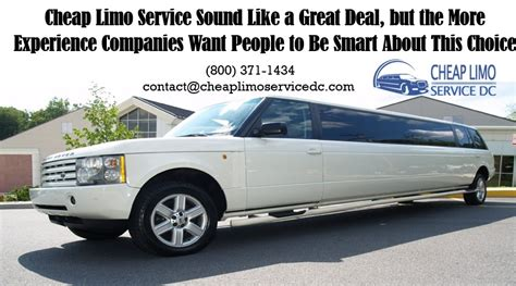 Cheap Limo Service by Cheap Limo Service Sound Like A Great Deal 800 371 1434