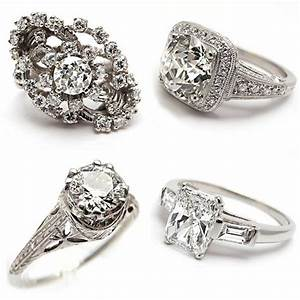50 unique vintage classic diamond engagement rings With classic vintage wedding rings