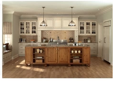 mixing kitchen cabinet colors we seeing mix and match wood products and colors in 7547
