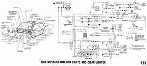 1968 Overhead Console Map Lights