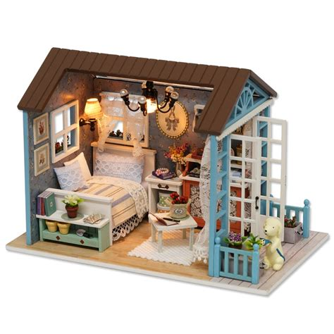 miniature houses handmade doll house furniture miniatura diy doll houses
