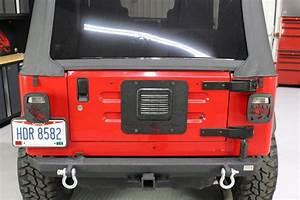 Jeep Tj Tailgate Plate 97