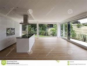 bel interieur d39une maison moderne photo libre de droits With photo d interieur de maison moderne