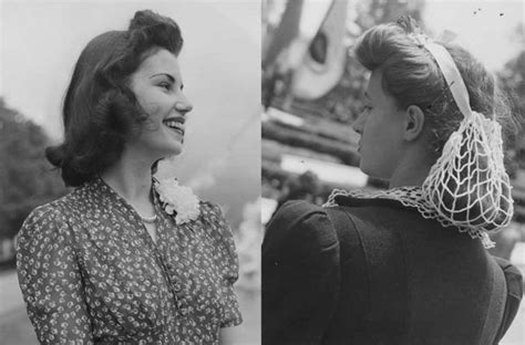 25+ Best Ideas About 1940s Hairstyles On Pinterest