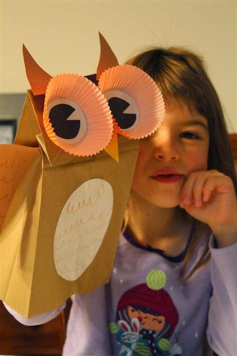 spark and all fiar owl moon paper bag owl puppet 280 | 8d849fe3fe1398b8f0d71c5942da7185