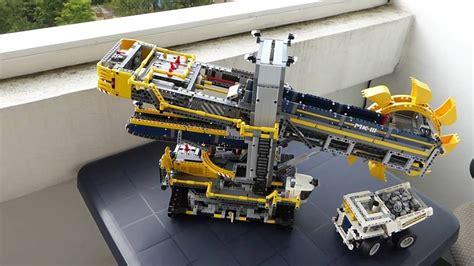 Lego Technic Schaufelradbagger (42055)  Bauabschnitt 669