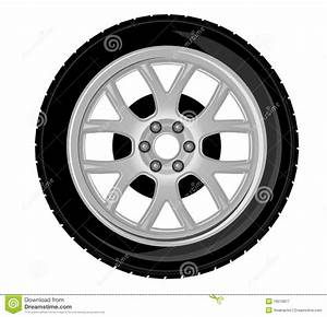 Wheel And Tire Stock Vector  Illustration Of Fast  Disk