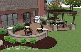 Adding Pavers To Concrete Patio Decorate Concrete Paver Patio Design With Pergola Download Plan