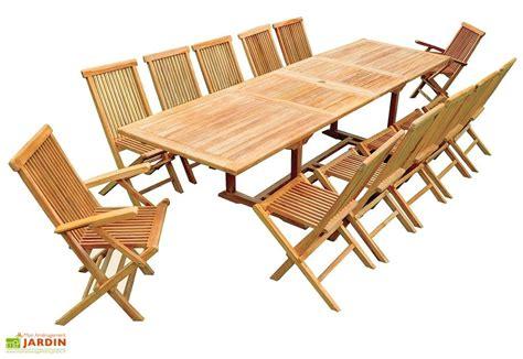 table chaise exterieur beautiful salon de jardin en teck rectangulaire gallery