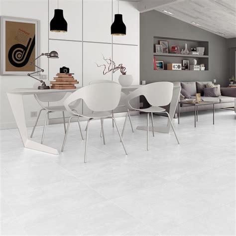 modern white floor l large white floor tiles in stunning cement effect porcelain