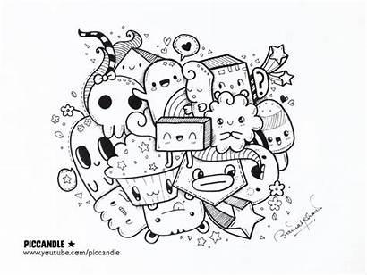 Kawaii Doodles Doodle Piccandle Quick Deviantart Colouring