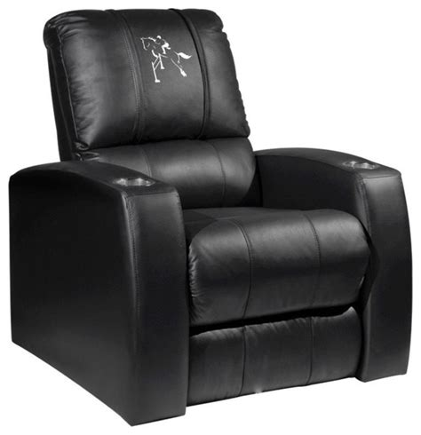 equestrian home theater leather recliner