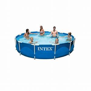 Frame Pool 366 : intex metal frame pool rond 366 x 79 cm rond sterk metaal frame staal zwembad intex framepool ~ Eleganceandgraceweddings.com Haus und Dekorationen