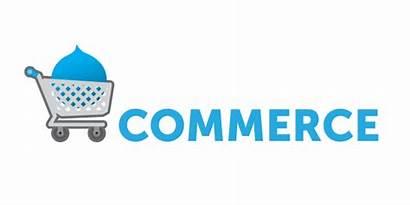 Commerce Drupal Logos Ecommerce Affiliates Clipground Pngio