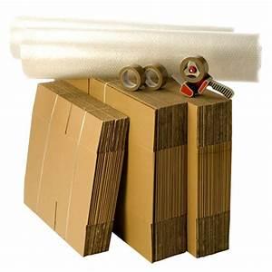 Cartons De Déménagement Gratuit : kit d m nagement t3 t4 avec 3 rouleaux d 39 adh sif gratuits ~ Melissatoandfro.com Idées de Décoration