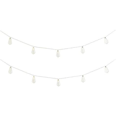 pier 1 imports clear led industrial string lights 22