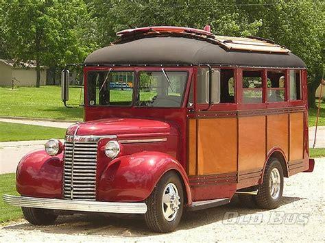 custom  wayne chevy woody  school bus magic