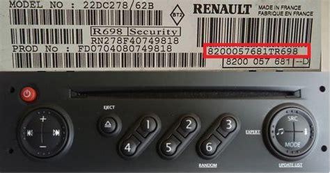 Auto Radio Code, Code For Unlocking Car Radio, Cd Players