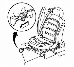 Diagram For Removing Front Bench Seat 2001 Cadilac Sedan