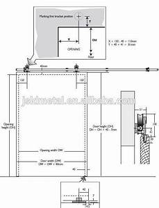 sliding barn door hardware dimensions google search With barn door thickness