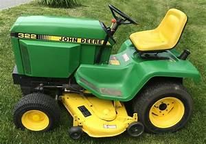 John Deere 322 Lawn  U0026 Garden Tractor Maintenance Guide