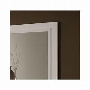 Miroir Salle A Manger : miroir de salle manger design 140 cm laqu blanc jewel matelpro ~ Teatrodelosmanantiales.com Idées de Décoration