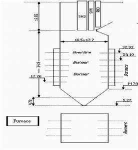 Scheme Of B And W Drum Type Radiant 550 Mw Opposite Wall