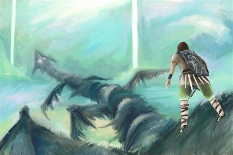 Shadow Of The Colossus Images Whach Your Step Hd Wallpaper