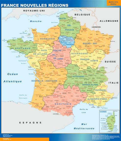Nouvelle Carte De Region Et Departement by Vous Cherchez Cartes Nouvelles Regions Ou Le Plan