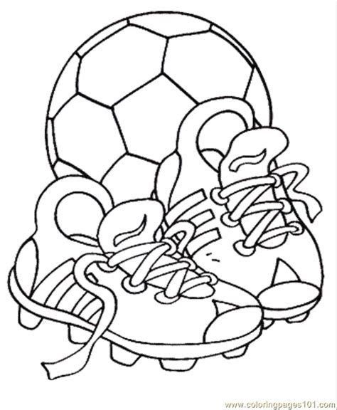 soccer balls coloring pages coloring home
