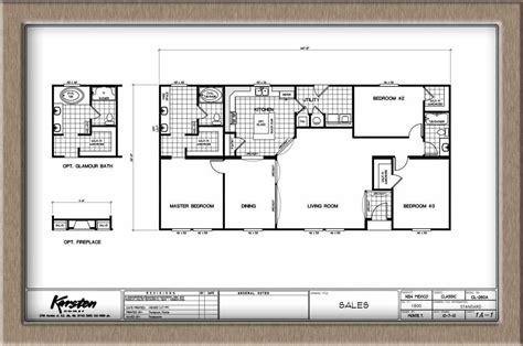 Karsten K3060a 3 Bed / 2 Bath / 1800 Sqft Affordable Home
