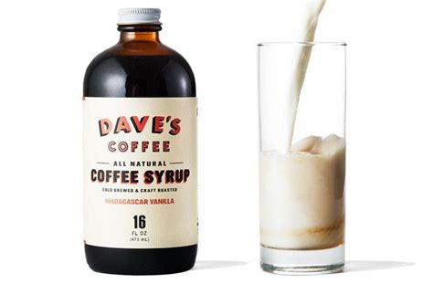 Rhode island traces coffee milk's inception back to its ethnic roots — in the early 20th century, italians brought a love for strong, milky coffee to the state. Cold-Brewed Vanilla Rhode Island Coffee Syrup - Kaufmann Mercantile | Coffee syrup, Vanilla ...