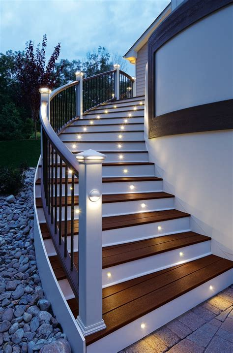 trex lighting installation guide trex deck lighting available at kuiken brothers in nj