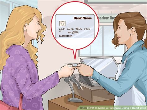 How To Make A Purchase Using A Debit Card 14 Steps