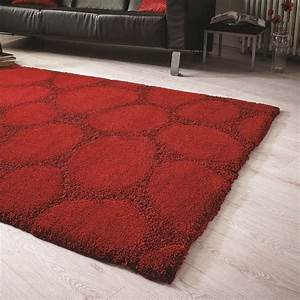 tapis shaggy rouge ruby flair rugs 120x170 With tapis shaggy 120x170