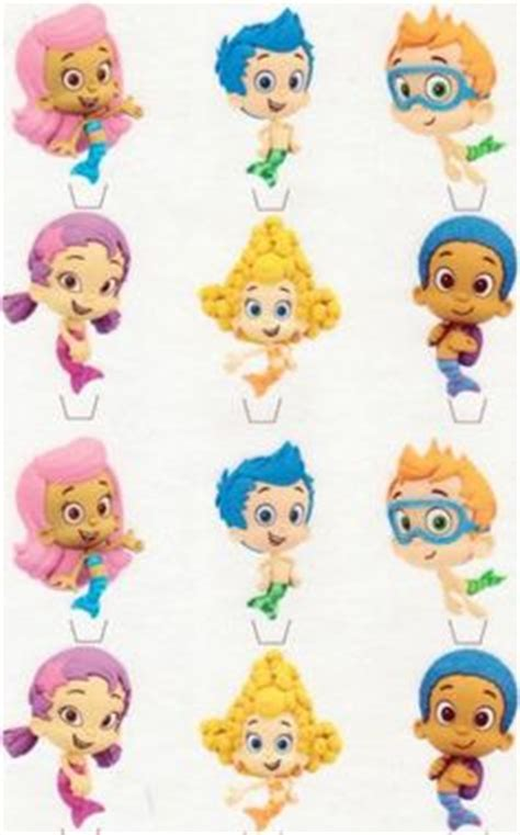 bubble guppies cake toppers google search cakes
