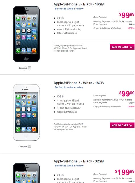 iphones for cheap no contract t mobile offering iphone 5 with lte up to 64gb for
