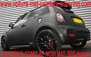 Mini Cooper Noir : couleur noire mate mini cooper minicoopercoveringpeinturenoirmat ~ Gottalentnigeria.com Avis de Voitures