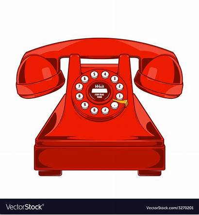 Phone Ring Telephone Vector Line Dial Buttons