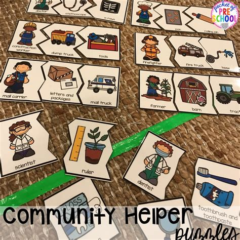 community helpers activities and centers for preschool and 296 | Slide2 3