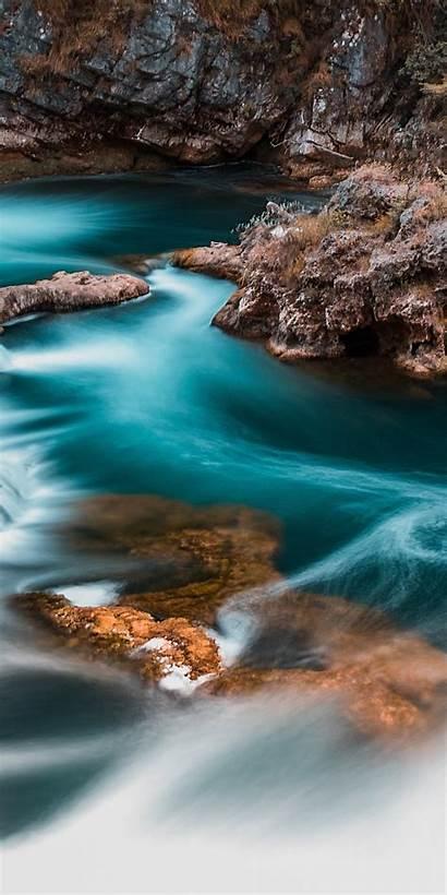 Exposure Waterfall Stream River