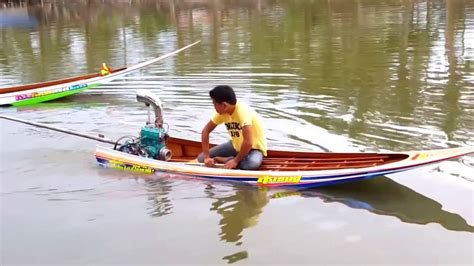 Jet Ski With Boat Motor by Longtails Boat With Jet Ski Engine