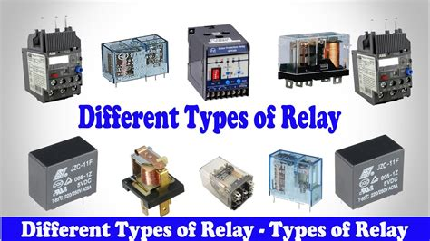 basic knowledge of relay electronics tutorial with